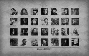 Game of Thrones Cast Wallpaper