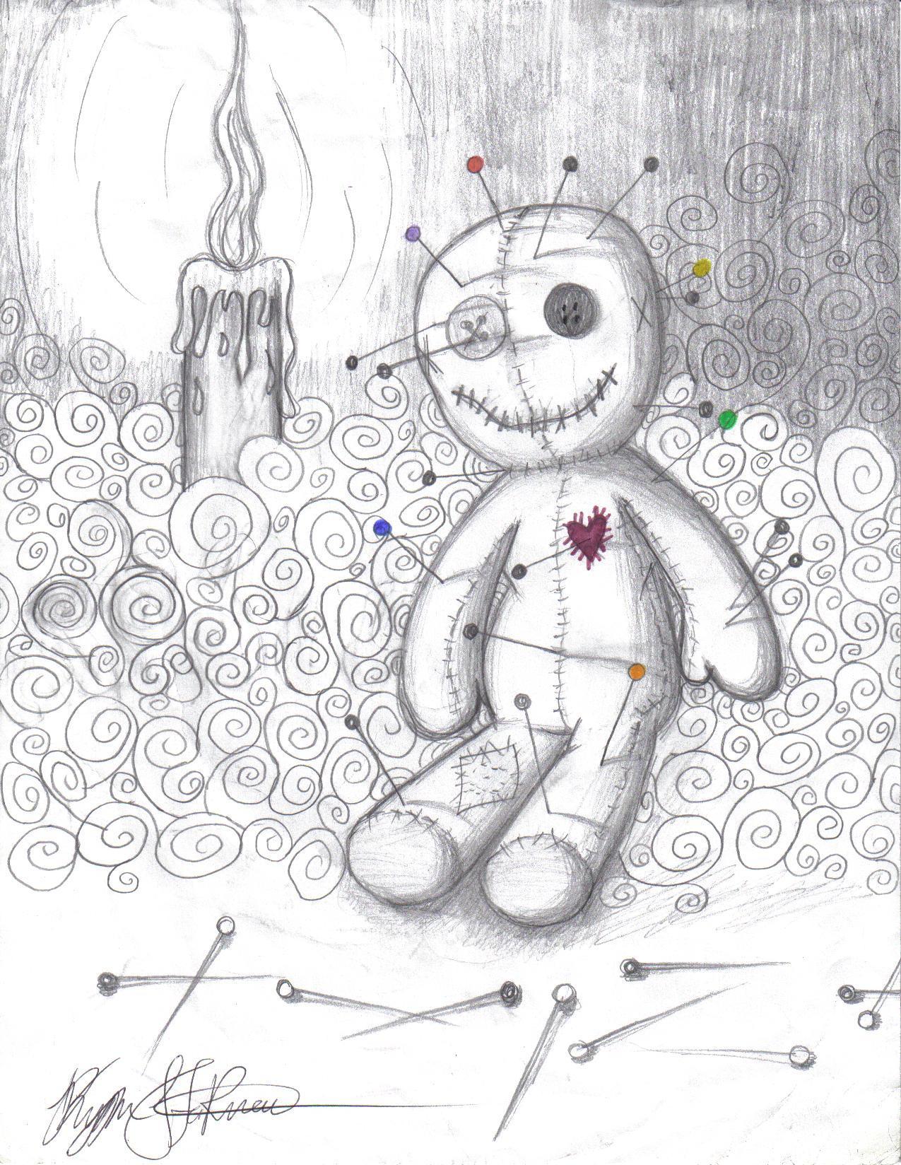 Voodoo doll by Evil-Peanut