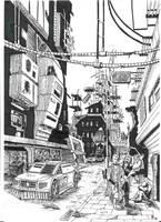Postapo city by WekT