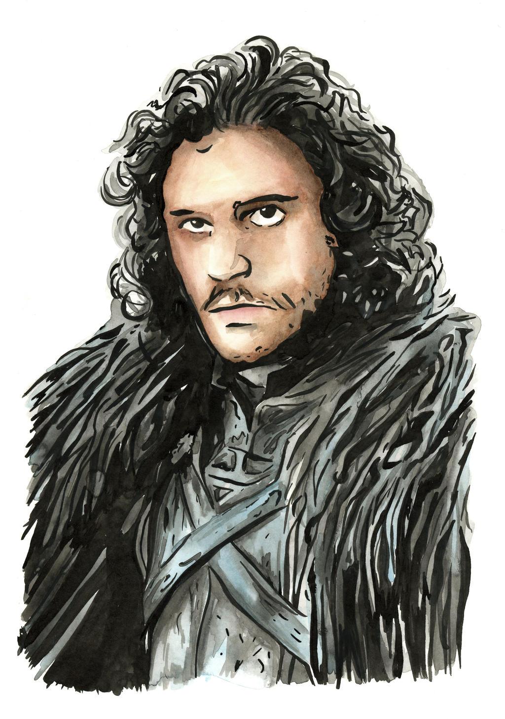 Jon Snow4 by Hummingbird26