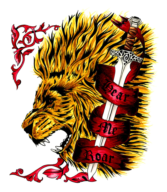 Sigils, symbols, banners on House-Lannister - DeviantArt - photo#23