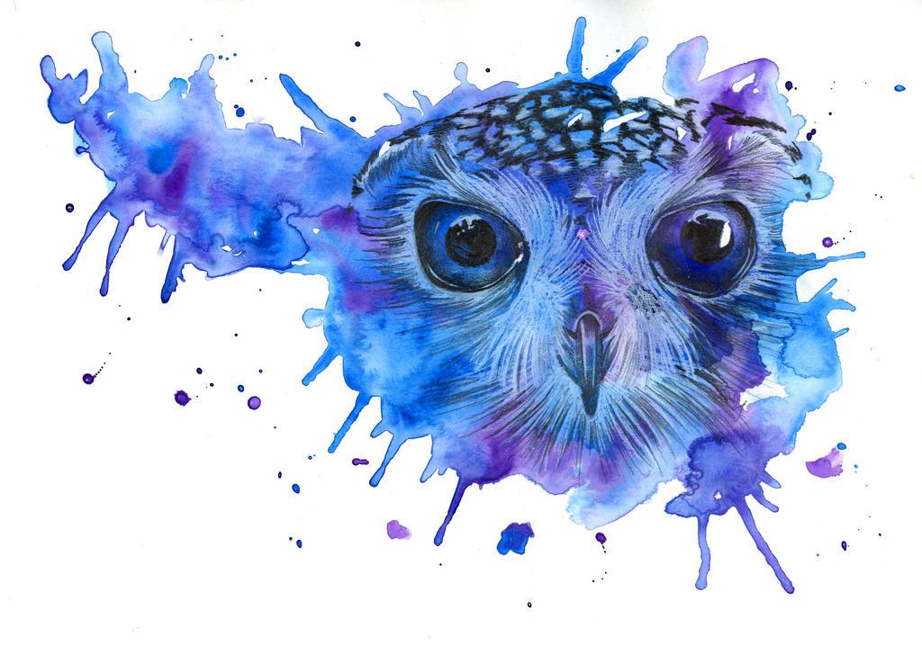 Owl Sketch by Hummingbird26