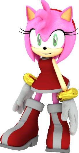 Sonic Boom Amy Rose Pose by JaysonJeanChannel on DeviantArt