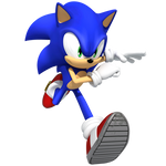 Sonic Running Render