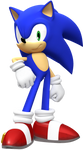 Sonic Standing Pose