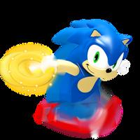 Lego Sonic Render by JaysonJeanChannel