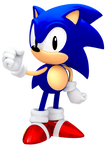 Another 25th Anniversary Classic Sonic Render