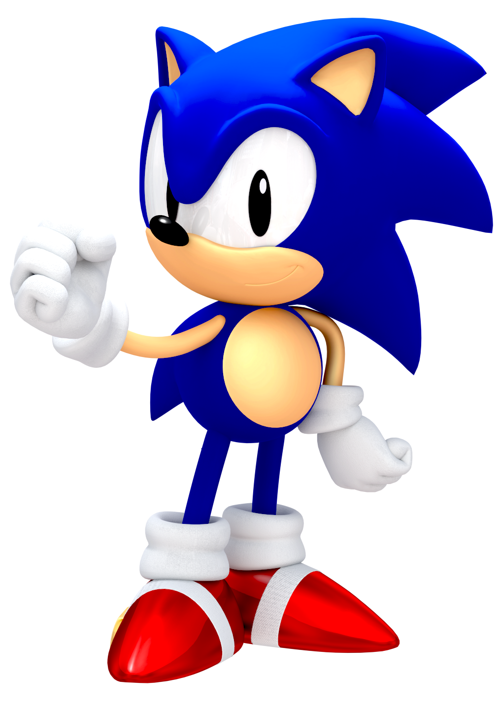 Another 25th Anniversary Classic Sonic Render By Jaysonjeanchannel On Deviantart