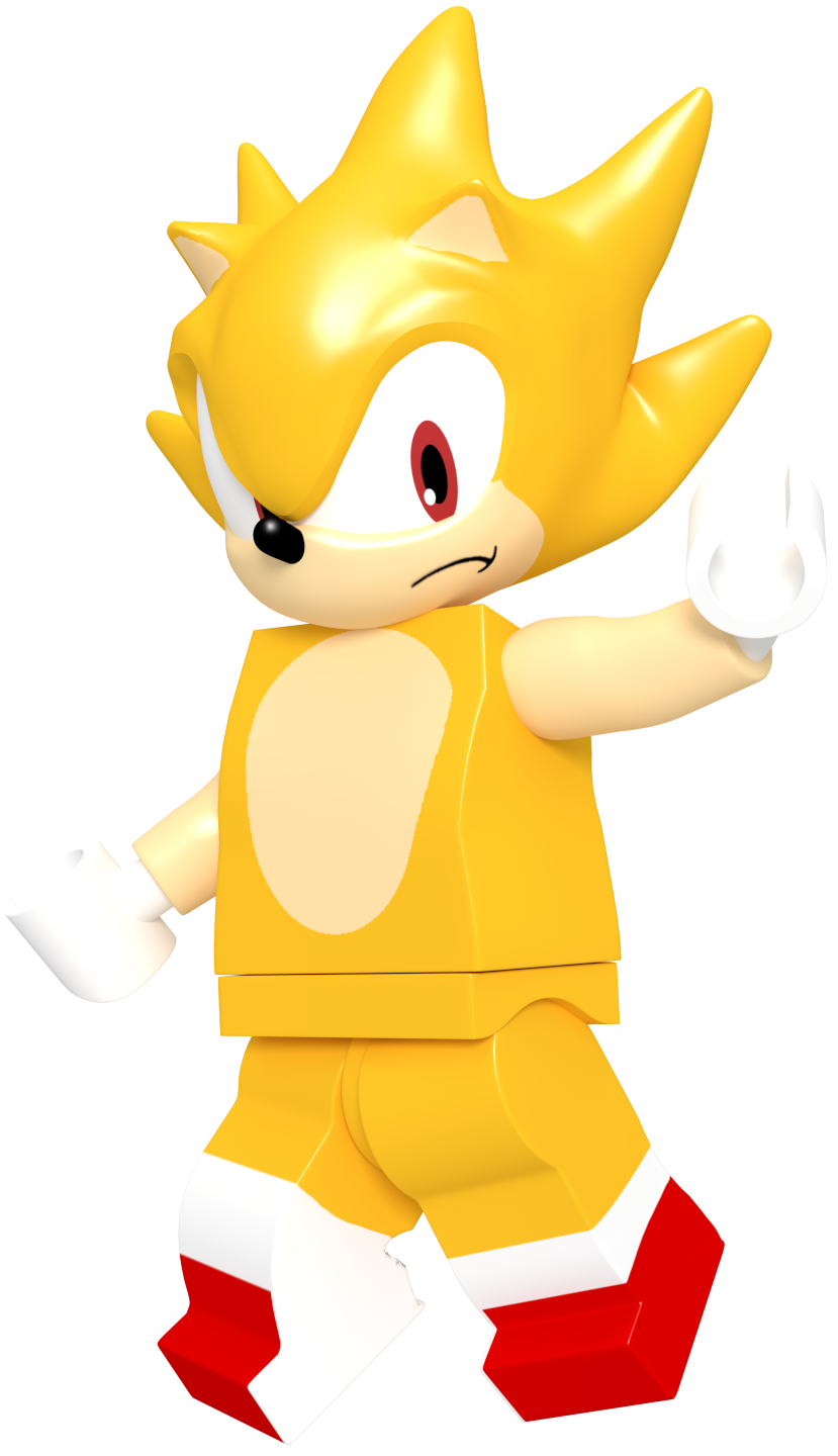 Lego super sonic by jaysonjeanchannel on deviantart - Super sonic 6 ...