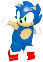 Lego Sonic Thanksgiving Render by JaysonJeanChannel