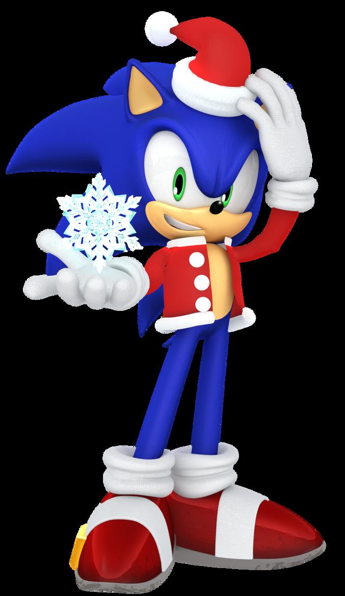 2016 Christmas Sonic Render by JaysonJean on DeviantArt