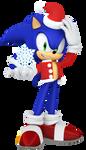2016 Christmas Sonic Render