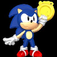 Sonic SATAM Render by JaysonJeanChannel