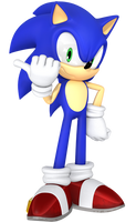 Sonic 2 Style Render. by JaysonJeanChannel