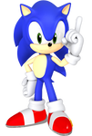 Nendoroid Sonic Render