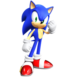 A MUCH better render of Sonic. by JaysonJeanChannel