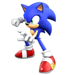 Playing around with Blender ... New Sonic Render by JaysonJeanChannel