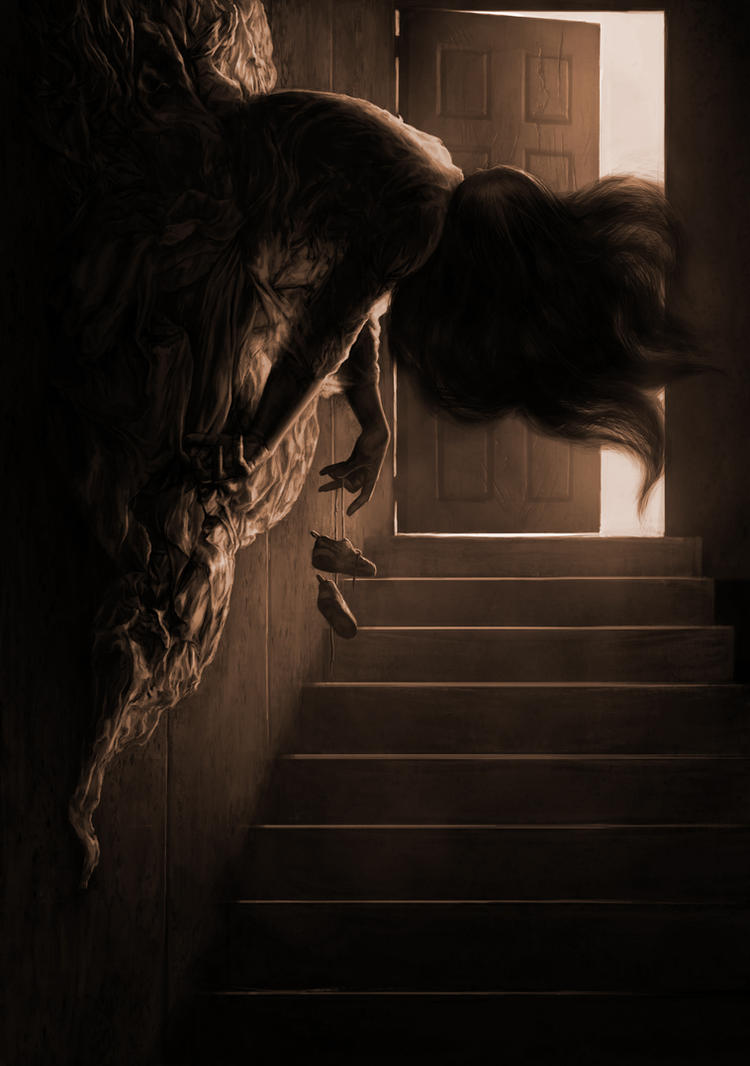 dark creepy basement. The Lady in the Basement by lpeters  on DeviantArt
