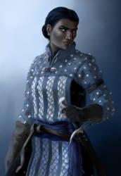 Vaia Grey Warden Portrait