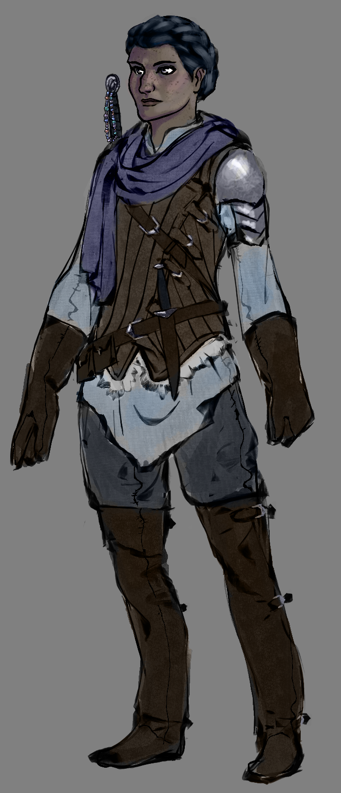 Character Design Krita : Vaia costume design by rsek on deviantart