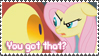NOT a Shy Pony Stamp by Shiro-Redfield