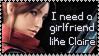I need a GF like Claire by Aletheiia90