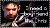 I need a BF like Chris by Shiro-Redfield
