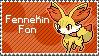 Fennekin Stamp