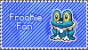 Froakie Stamp