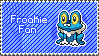 Froakie Stamp by Aletheiia90