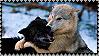 Wolf hug Stamp by Aletheiia90