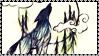 Cerise Hood Stamp Wolf by Aletheiia90