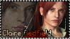 Claire Redfield-Rev2 Stamp by Aletheiia90