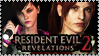 Revelations 2: Claire and Moira Stamp by Aletheiia90