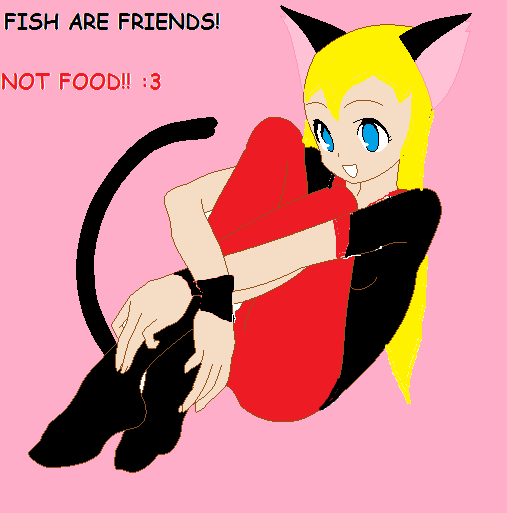 Fish are friends not food 3 by xxsilversecretsxx on for Fish are friends not food