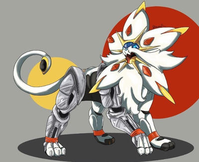 Full Metal Solgaleo by MeMyArtAndI