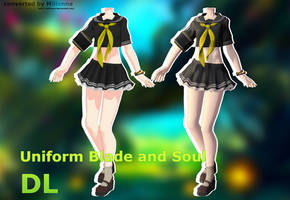 MMD BLADE AND SOUL Uniform  [DL DOWNLOAD] by Milionna