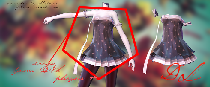 MMD BLADE AND SOUL -DRESS#2- [DOWNLOAD][DL]