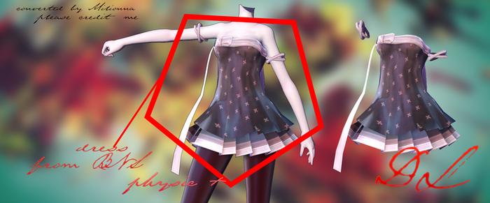 MMD BLADE AND SOUL -DRESS#2- [DOWNLOAD][DL]