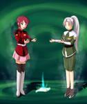 Lunamaria and Sera 2