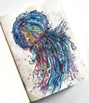 Jellyfish Illustration by mohsart