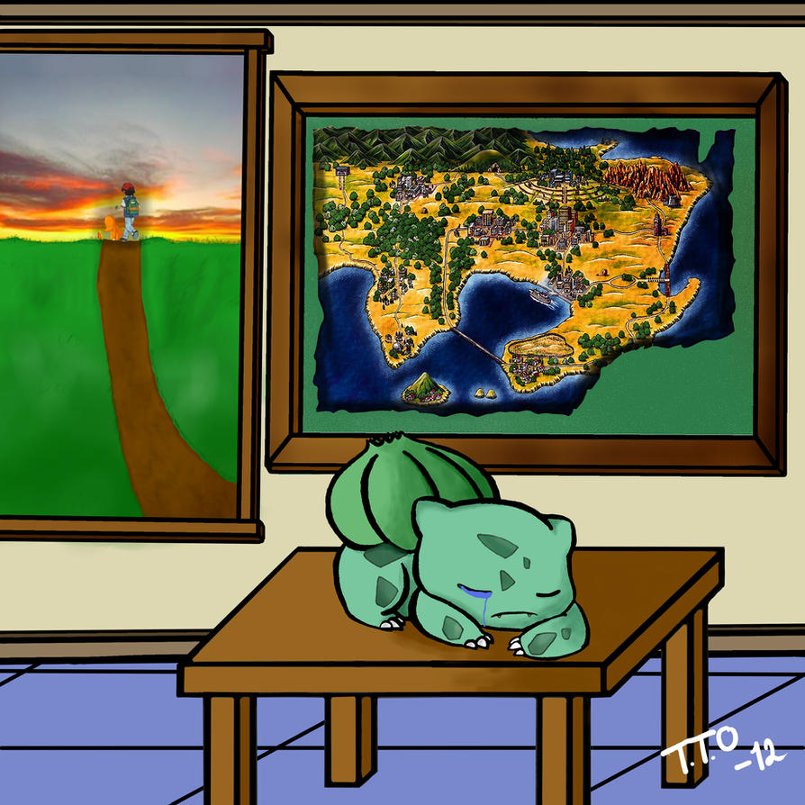 Bulbasaurs Sorrow by Oronatur