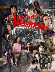 The Warriors tribute movie poster #2 by joelosito
