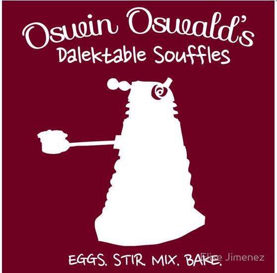 Oswin Oswald's Dalektable Souffles by geek-i-licious