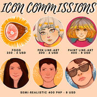 Icon Commission Sheet by Trouble--some