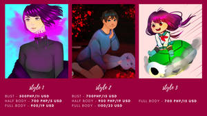 Commission Sheet by Trouble--some