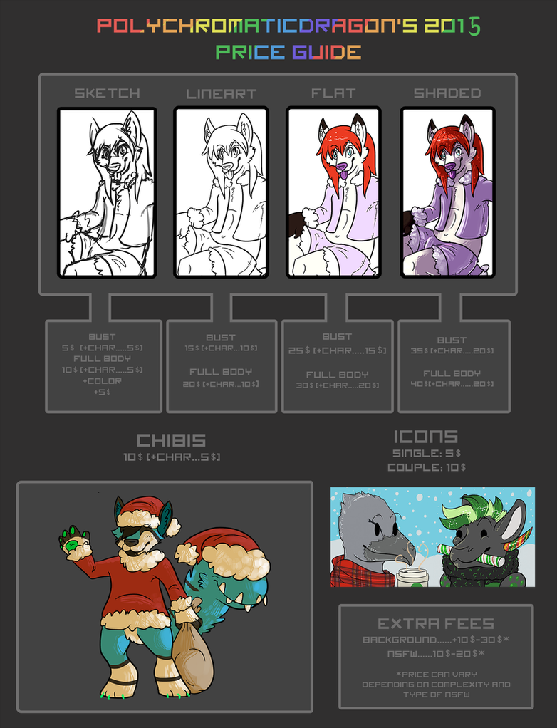 PolychromaticDragons 2015 Price Guide by PolychromaticDragon on ...