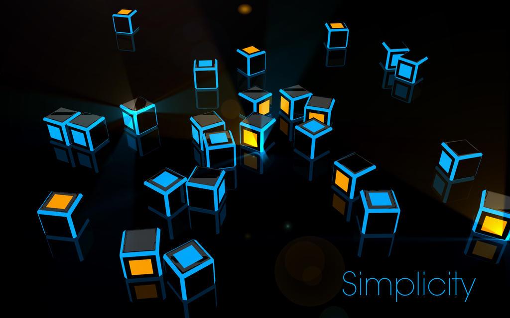 glowing cubes by landajc on deviantart
