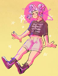 AT | Starry cotton candy by spidertams