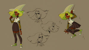 My final exam for character design class